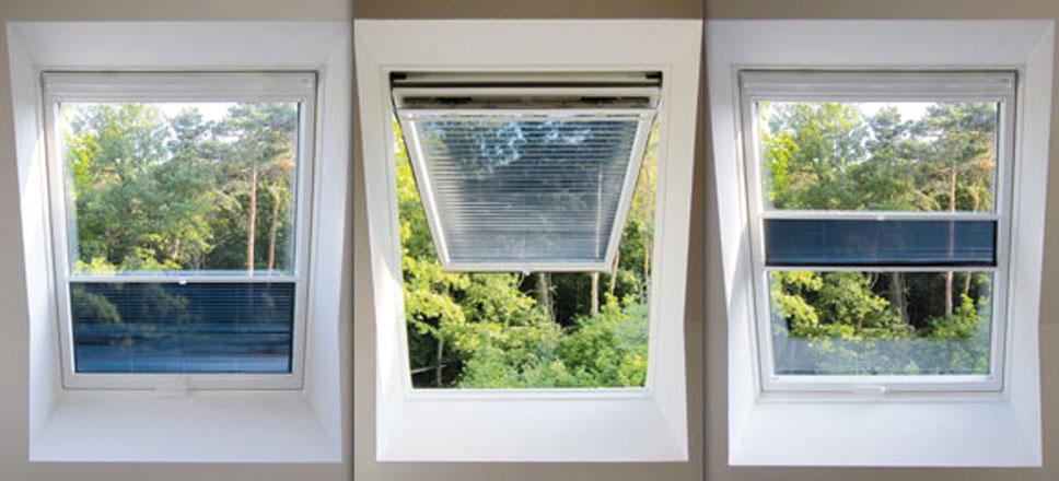 Hitzeschutz Velux-Dachfenster