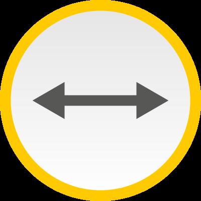 von links nach rechts und rechts nach links